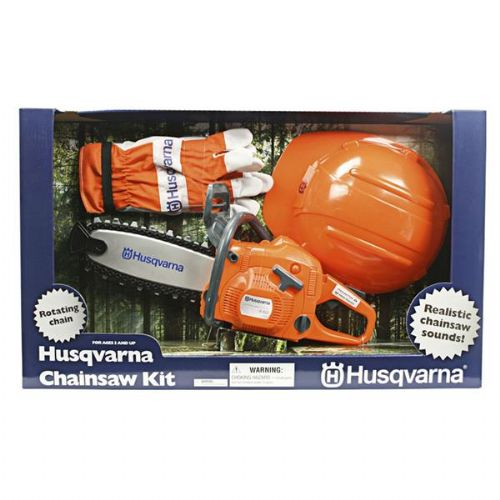 Husqvarna Children's Battery-Operated Toy Chainsaw Kit  Product Code 586498201